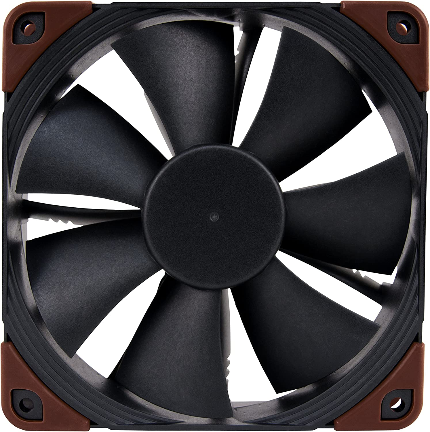 Heavy Duty Cooling Fan with 3000RPM 4-Pin Noctua NF-F12 iPPC 3000 PWM 120mm, Black
