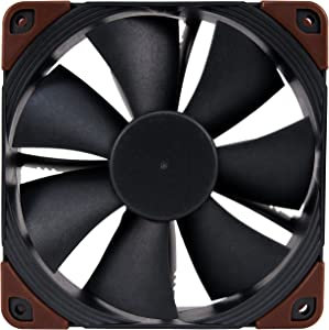 Noctua NF-F12 iPPC-24V-2000 Q100, 4-Pin, Heavy Duty Cooling Fan with 2000RPM, IP67, Q100 and 24 Volt (120mm, Black)