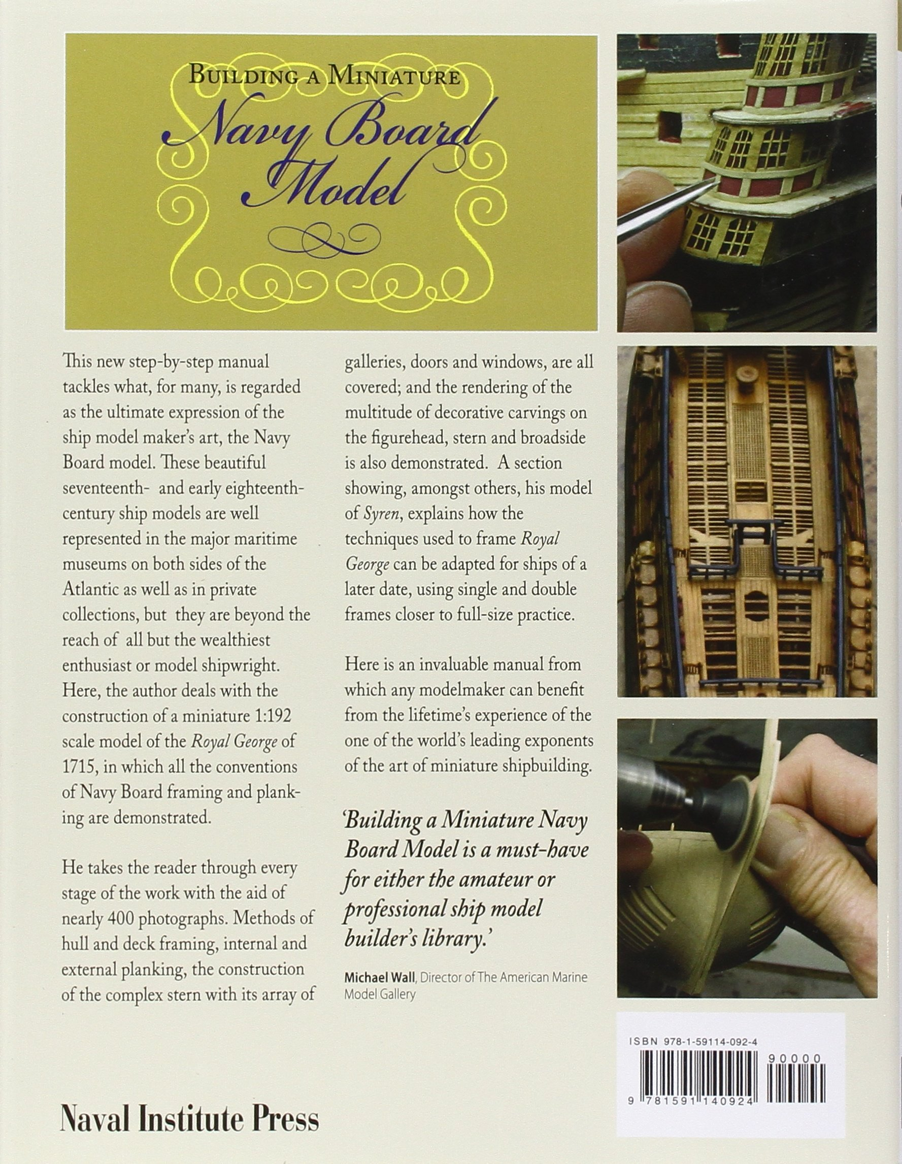 Building a Miniature Navy Board Model: Amazon.de: Phillip Reed ...