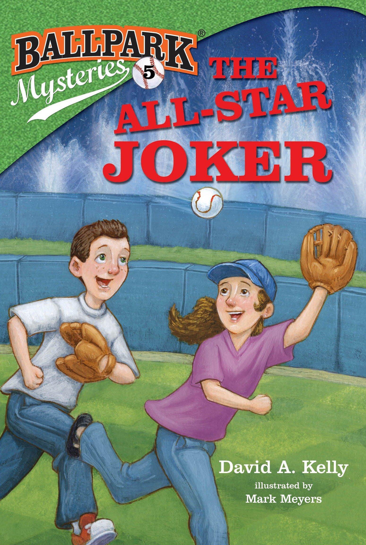 Amazon.com: Ballpark Mysteries #5: The All-Star Joker (9780375868849 ...