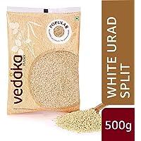 Amazon Brand - Vedaka Popular White Urad Split, 500g