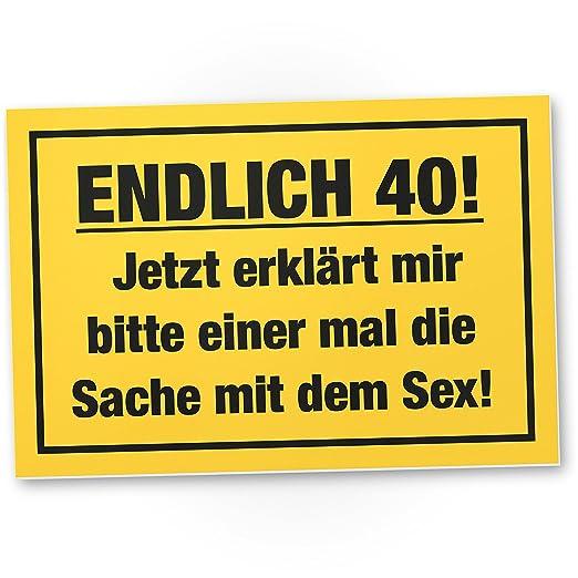 DankeDir! 40 años - Asunto con Sex, plástico Cartel - 40 ...