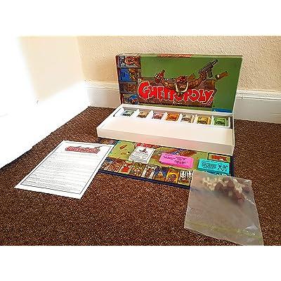 Ghettopoly Boardgame: Toys & Games