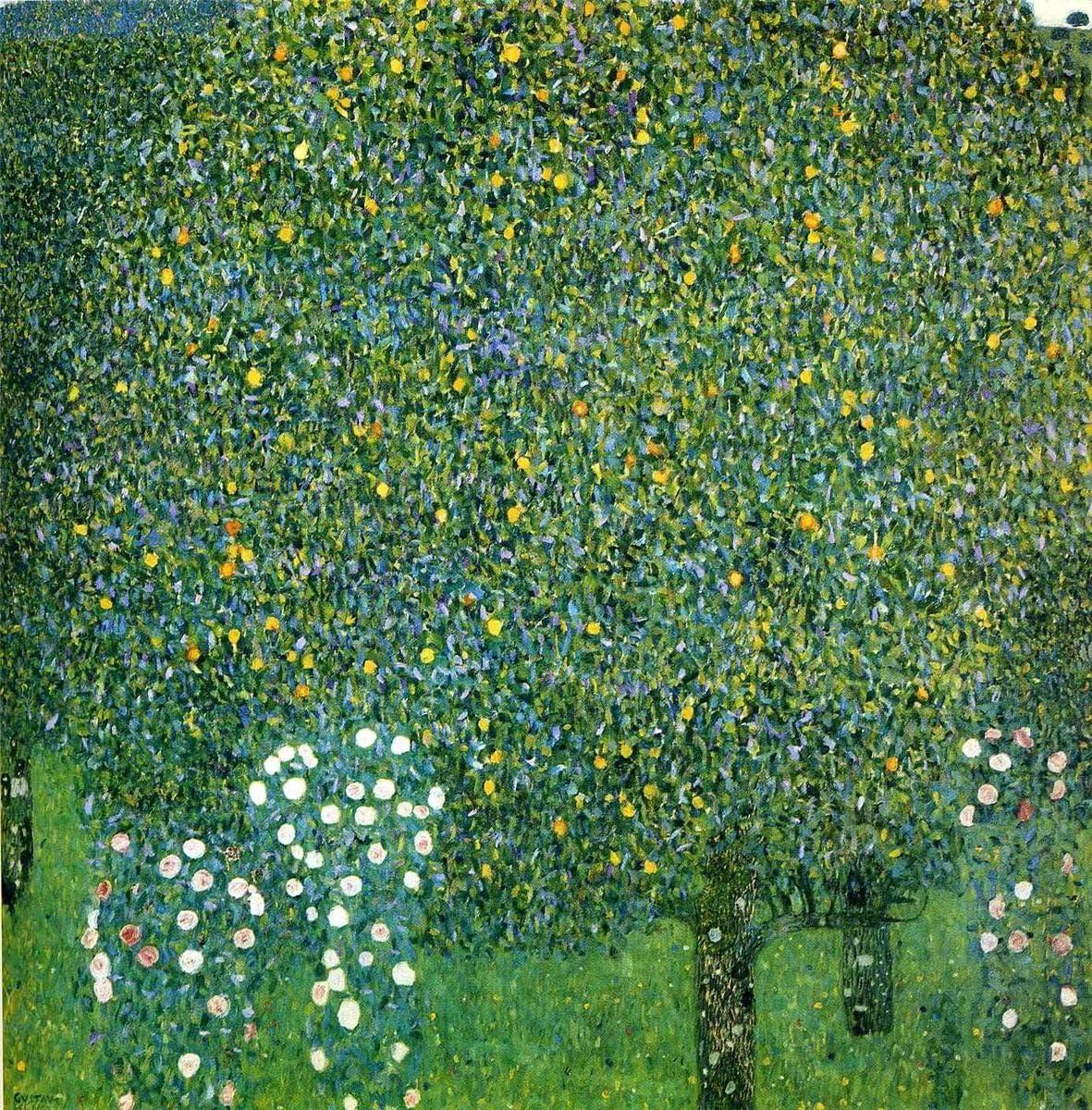 ODSAN Rose sotto gli alberi – Gustav Klimt – Senza Cornice, Stampe ...