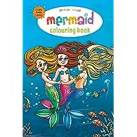 Mermaid Colouring Book (Giant Book Series): Jumbo Sized Colouring Books (Giant Colouring Book Series)