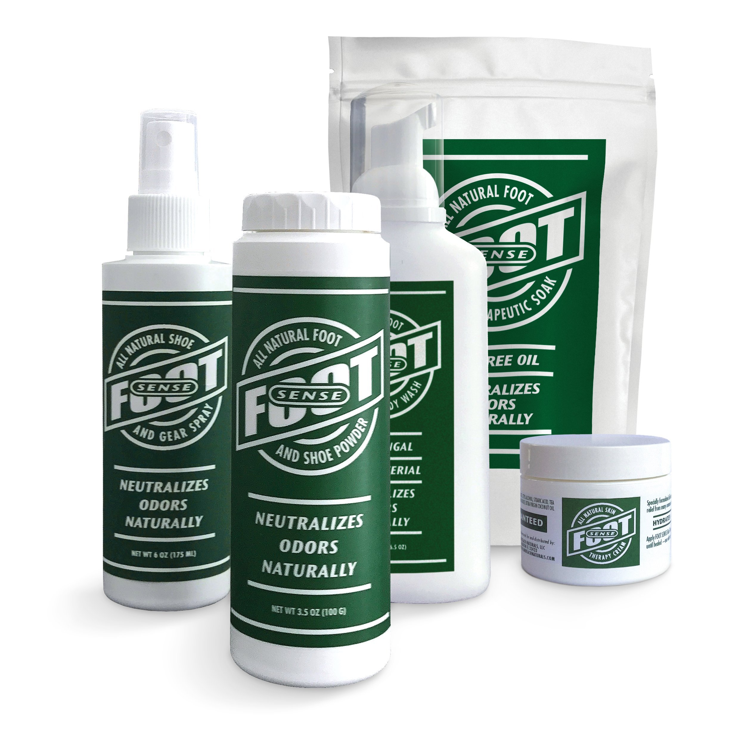 FOOT SENSE All Natural Smelly Foot & Shoe Powder - Foot Odor Eliminator lasts up to 6 months. Safely kills bacteria. Natural formula for smelly shoes and stinky feet. (1 Pack) by Foot Sense (Image #5)