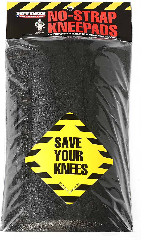 "1010 Soft Knees No Strap Knee Pads - Inserts 6"" x 9"" 91BBn2BrQu2L"