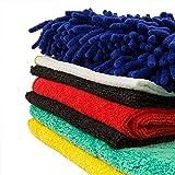 Dry Rite Best Microfiber Car Wash Detail Kit- Super Premium Professional Grade- Super Soft- Safe for All Car Finishes! 8 Piece