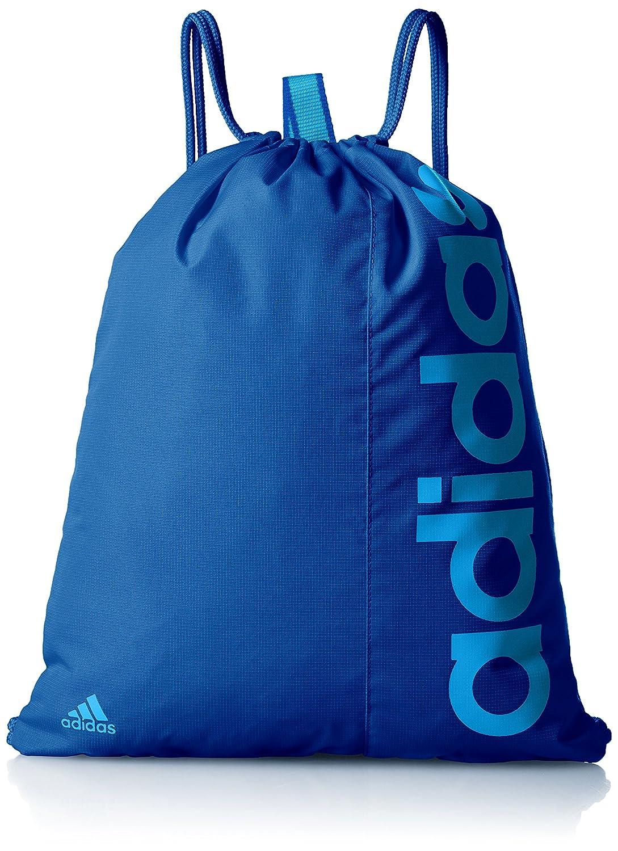 adidas Lin Per Gymbag - Bolso unisex, color azul, talla NS AJ9973