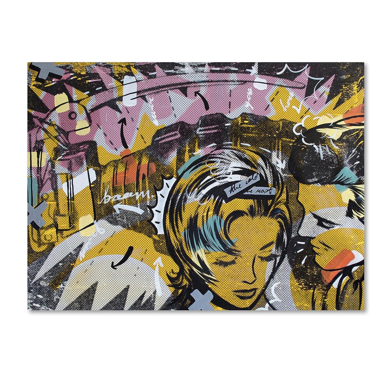 Trademark Fine Art Surprise B by Dan Monteavaro Wall Decor, 18 X 24-Inch