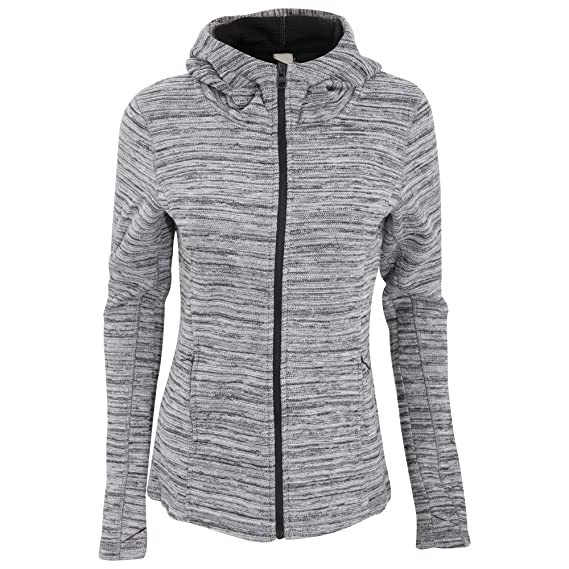 Groovy Bench Womens Ladies Diffract Zip Up Hooded Knit Jacket Camellatalisay Diy Chair Ideas Camellatalisaycom