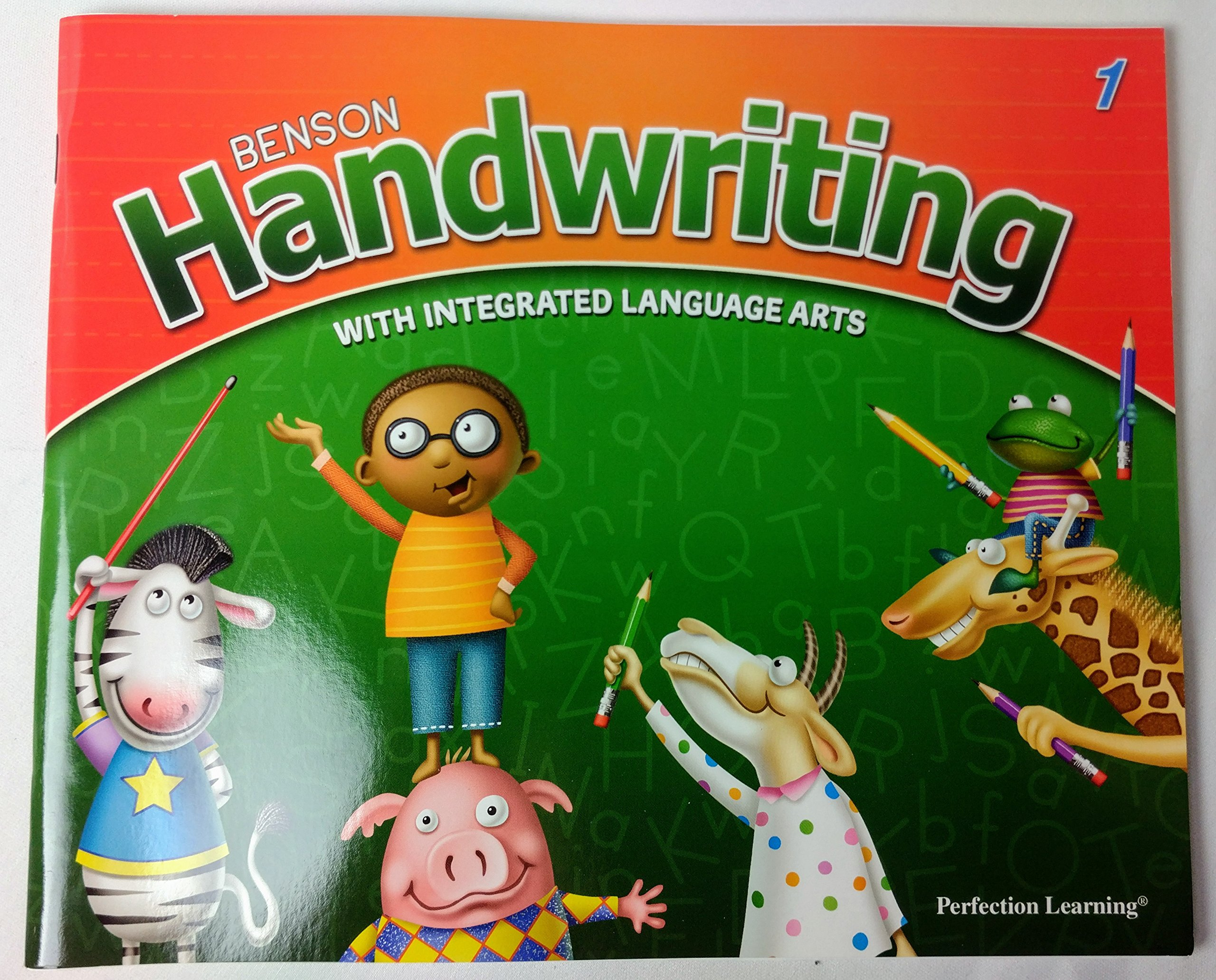 Download Perfection Learning -Benson Handwriting with Intergrated Language Art 1 PDF