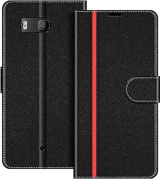 COODIO Funda HTC U11 con Tapa, Funda Movil HTC U11, Funda Libro ...
