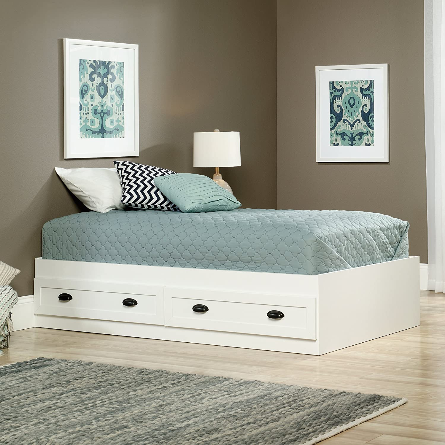 full twin large bed size drawers with of frame bedroom underbed storage platform underneath