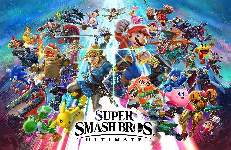 Amazon Com Super Smash Bros Ultimate Super Smash Bros Ultimate