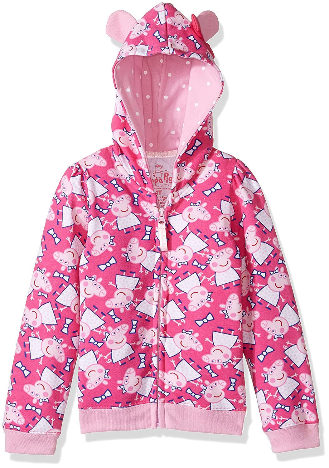 Peppa Pig Toddler Girls' Clothing Shop (Multiple Styles), Hoodie