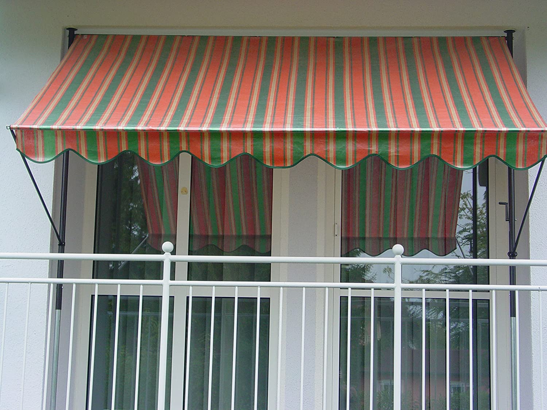 Fissaggio a Morsetto Tenda in polietilene Angerer n/°3200 Arancione