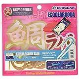 エコギア(Ecogear) ワーム 熟成タイラバアクア クワセカーリースリム 75mm