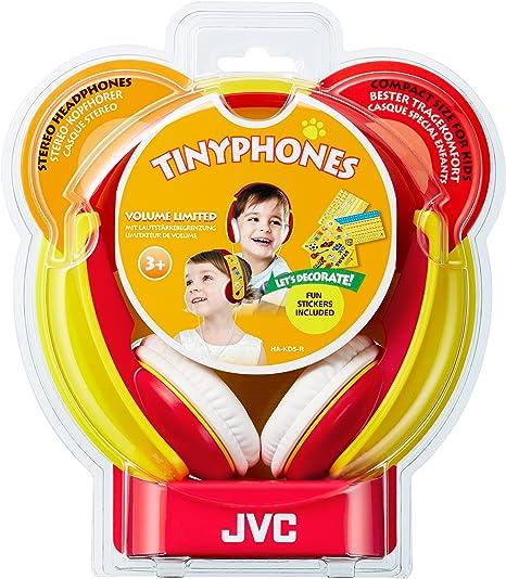 Jvc Ha Kd5 R E Kinder Stereo Kopfhörer Rot Elektronik