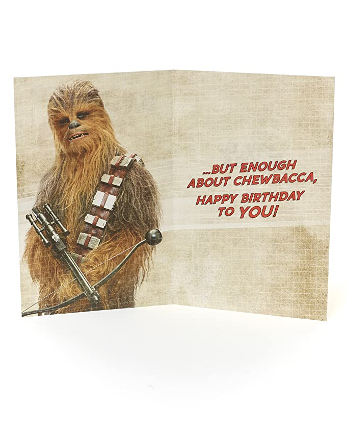 Disney Star Wars Brother Birthday Card Amazon Office Products