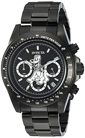 c1ecb3d4f3e Image Unavailable. Image not available for. Color  Invicta Men s Disney  Limited Edition Quartz Watch with Stainless-Steel Strap