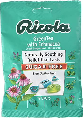 Echinacea Green Tea Lozenges 19 Count Case of 12