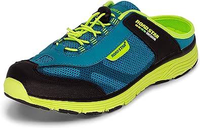 LEKANN 309 Sabots - Zapatillas deportivas para hombre (tallas 41-46), color Azul, talla 45 EU