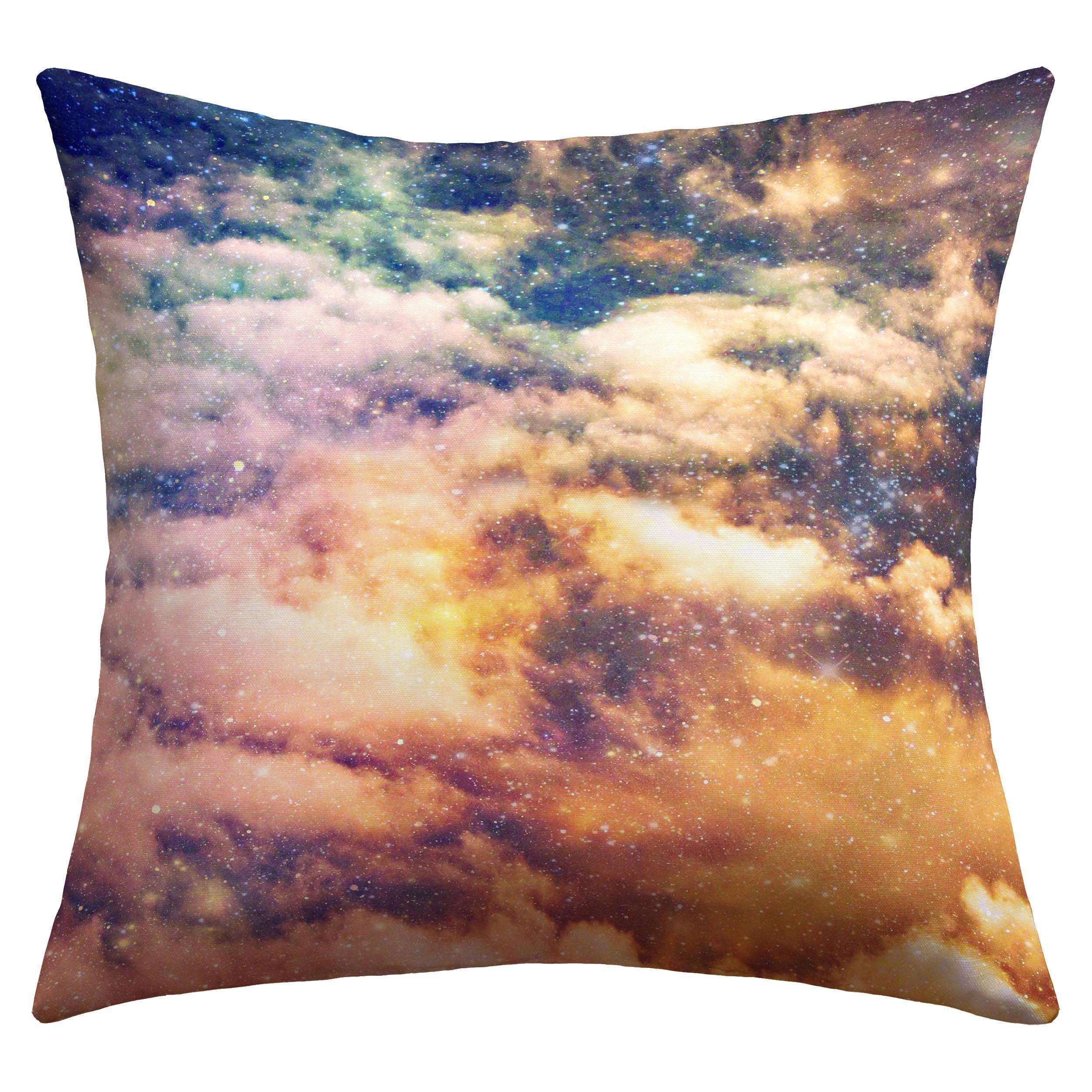 Deny Designs Shannon Clark Cosmic Outdoor Throw Pillow, 20 x 20