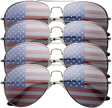 Fashion British America US CL Flag Party Glasses Novelty Sunglasses 2017 CL