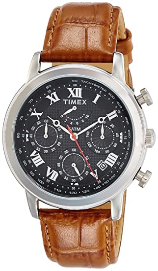 2617ff5ec Buy Timex Analog Black Dial Men s Watch - TWEG15806 Online at Low Prices in  India - Amazon.in