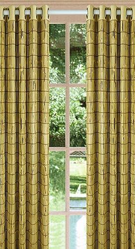 Versailles Home Fashions, Ivory Green, ASIN B002IYOOJ4 View on Amazon Bamboo Grommet Panel, 84-Inch