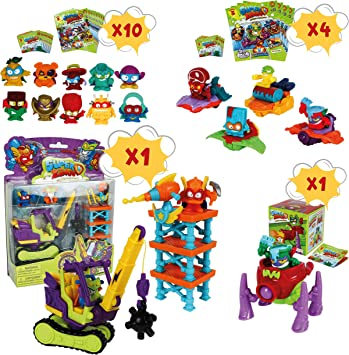 SuperZings Serie 3 - Total Demolition Mission 2 y Pack Sorpresa ...