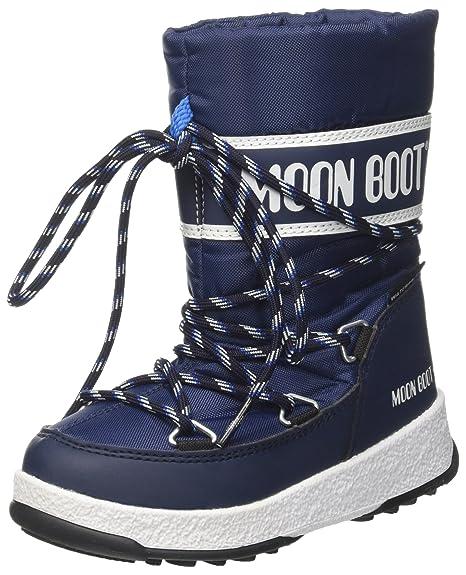 8d6613d3f4 Moon-boot Jr Boy Sport WP, Stivali da Neve Unisex - Bambini: Amazon ...