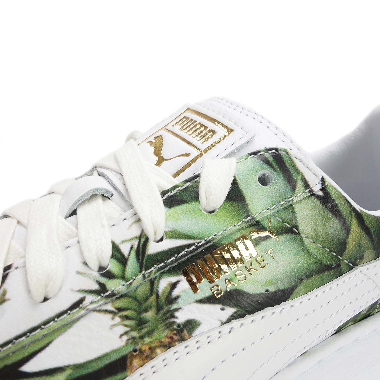 puma basket platform pineapple jr