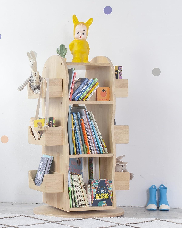 MesaSilla Kinder Bücherregal aus Massivholz   Bücherregal Kinder