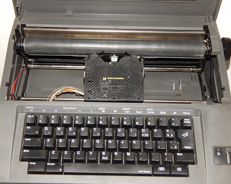 Smith Corona eléctrico máquina de escribir modelo modelo de ley 5B-1 – Portátil Silencioso gris