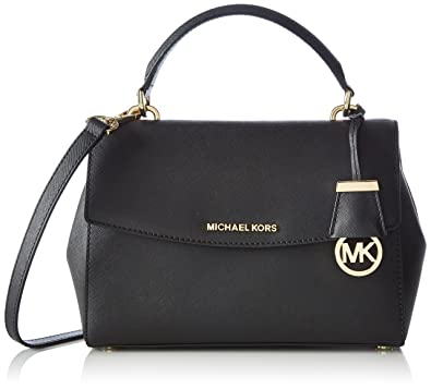 MICHAEL Michael Kors Women\u0027s Ava Small Satchel, Black, One Size