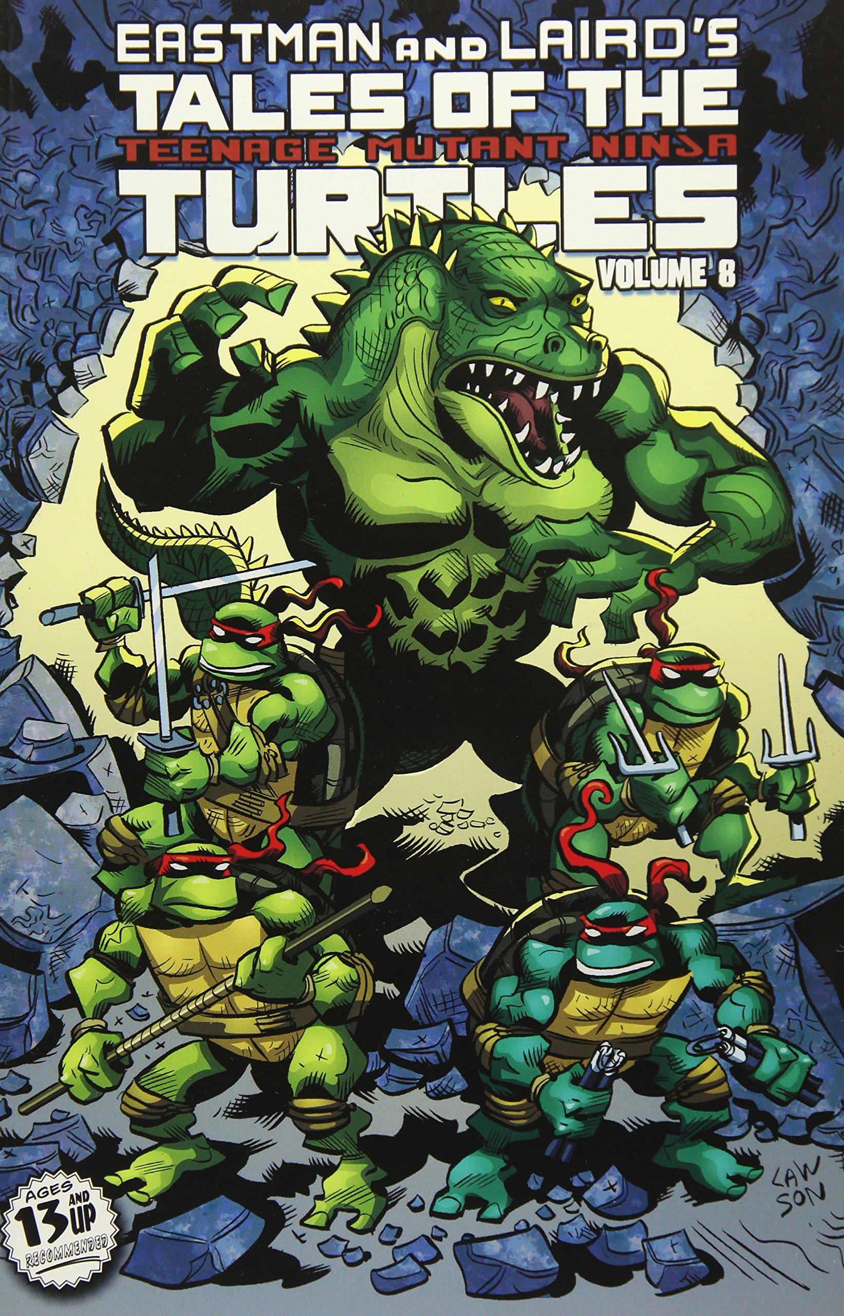 Tales Of The Teenage Mutant Ninja Turtles Volume 8 by Nickelodeon