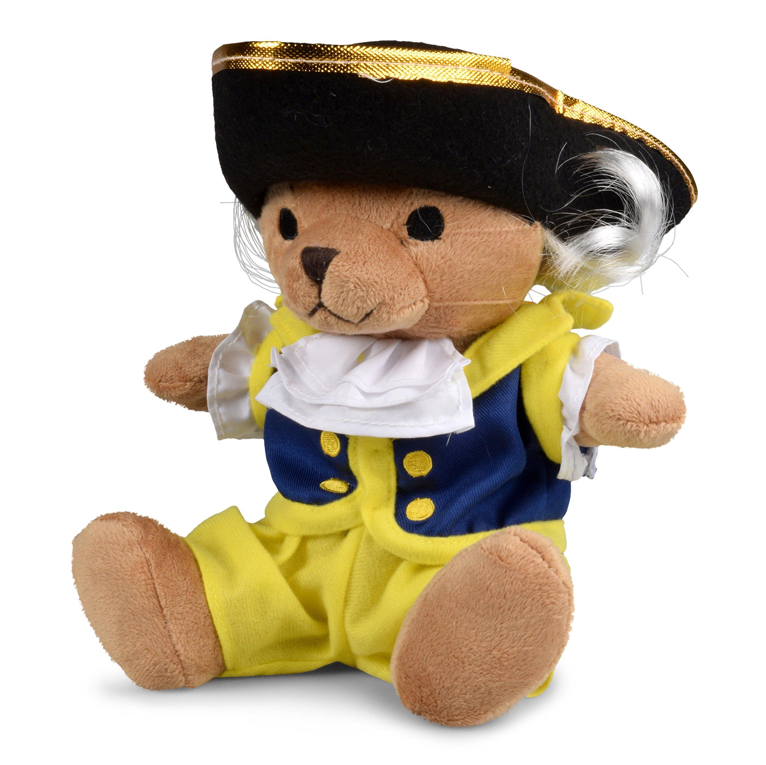 George Washington Plush Colonial Bear