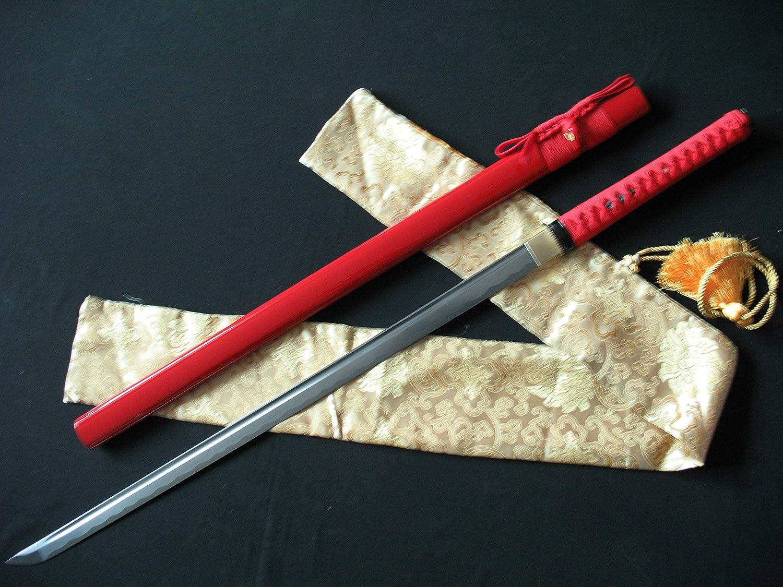 Japanese Samurai Sword KATANA 1060High Carbon Steel Full Tang Blade Razor Sharp
