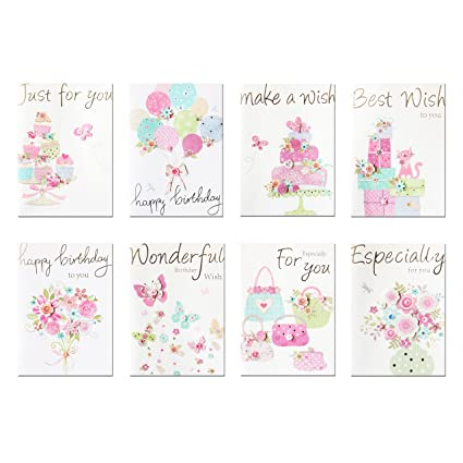 Amazon Paptel Birthday Greeting Cards For Kids All Occasion