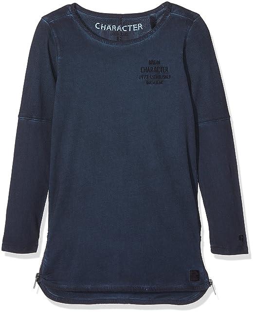 754c2cb9f Garcia Kids G73407, Camiseta de Manga Larga para Niños, Azul (Dark ...