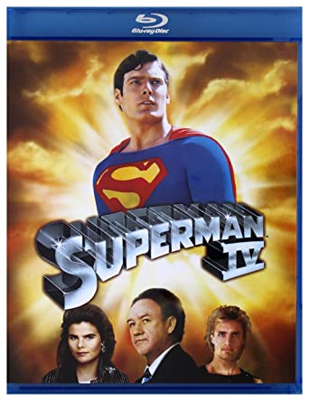 Superman IV: The Strongest Enemy [Blu-Ray] (English audio)