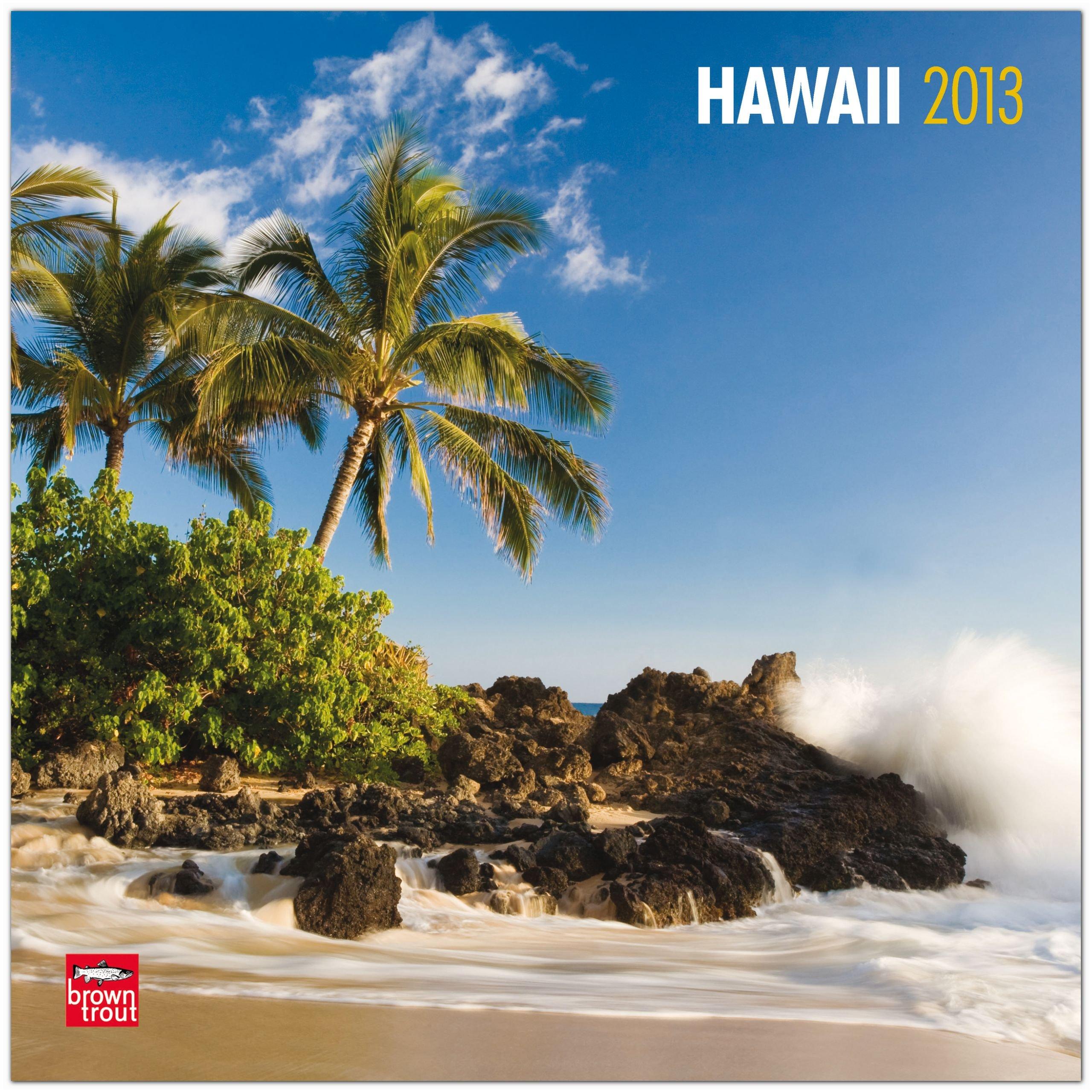 Hawaii 2013 - Original BrownTrout-Kalender