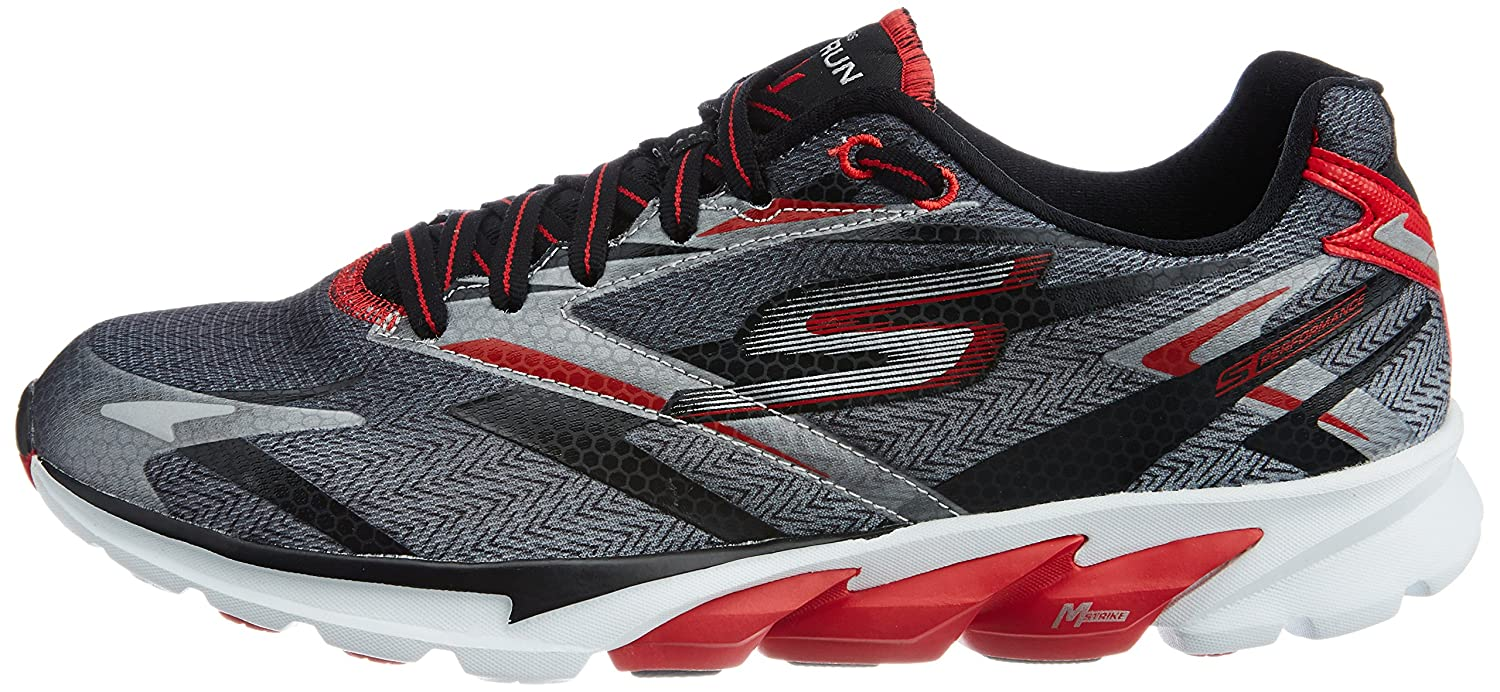 Skechers Go Run 4 - Zapatillas de running Hombre, Negro (Bkor), 42: Amazon.es: Zapatos y complementos