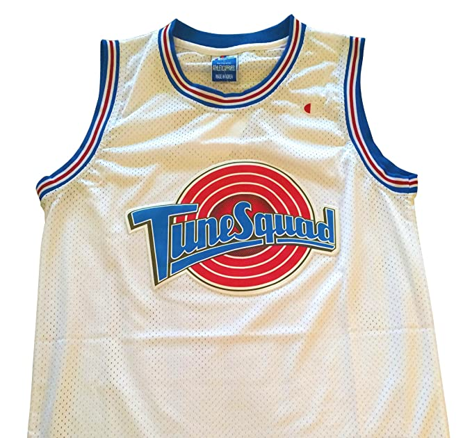 Amazon.com : Bugs Bunny Space Jam Jersey - #1 Tune Squad - White (Large) : Sports & Outdoors