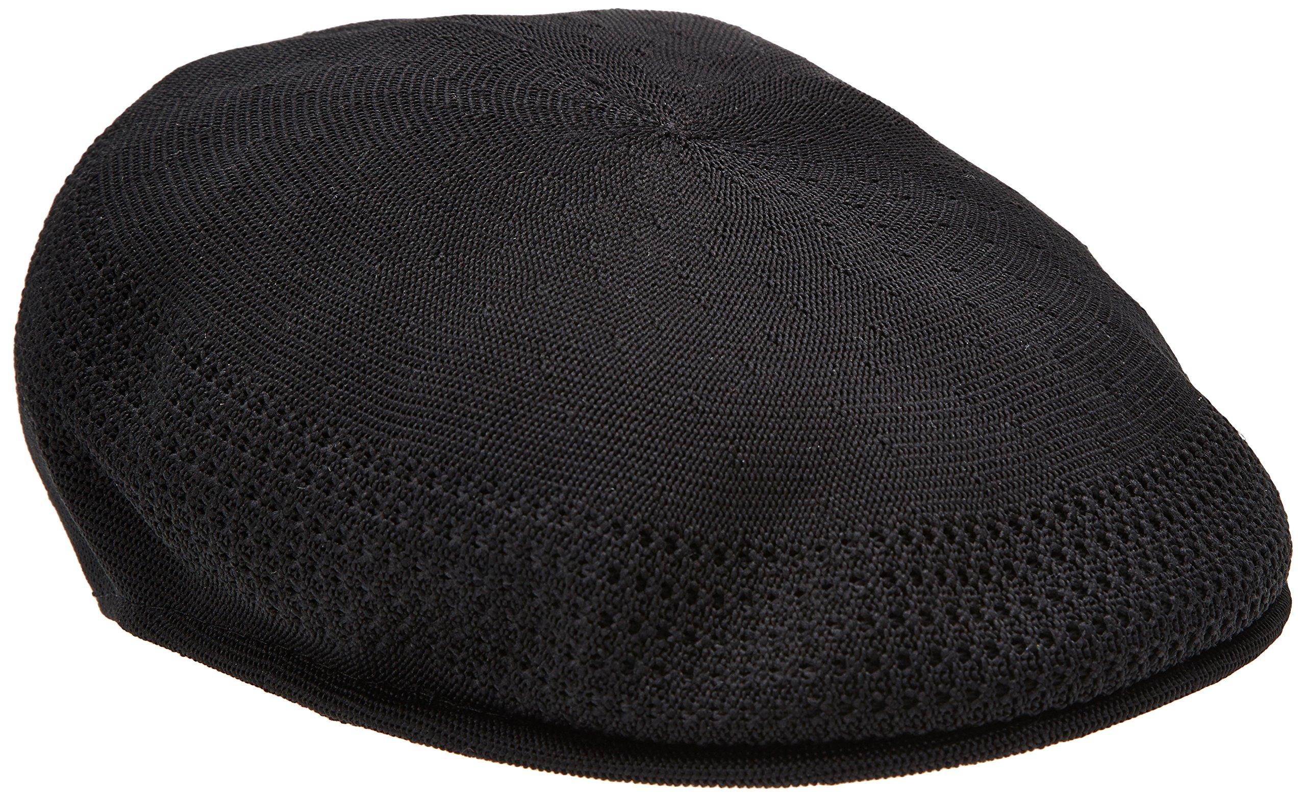 Kangol  Men's Tropic Ventair 504 Cap , Black,Large