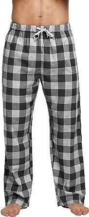 CLPPLI Mens Cotton Pajama Pants