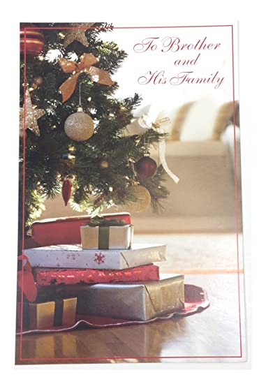Amazon christmas card brother familyto brother and his christmas card brother familyto brother and his familyby m4hsunfo
