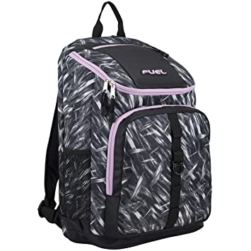 Amazon.com  Fuel Wide Mouth Sports Backpack with Laptop Compartment for  School 742b4b9e4f89f